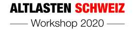 Altlasten Schweiz Workshop 2020