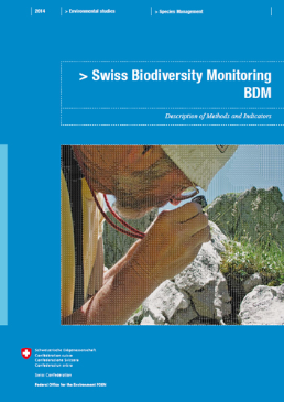 Cover Swiss Biodiversity Monitoring BDM