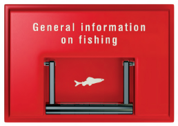 Cover General information on fishing. 2008. Flyer.