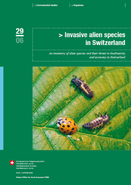 Cover Invasive alien species in Switzerland