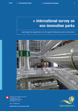 Cover International survey on eco-innovation parks