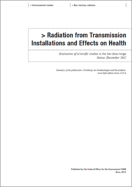 Cover Radiation from Transmission Installations and Effects on Health