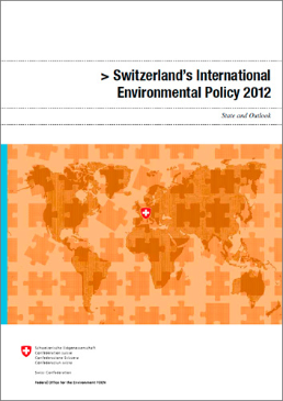Cover Switzerland's International Environmental Policy 2012