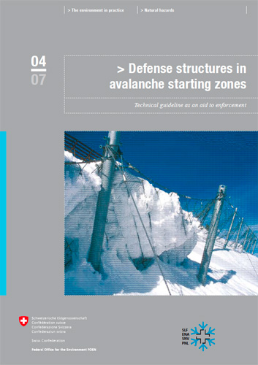 Cover Defense structures in avalanche starting zones.Technical guideline as an aid to enforcement.2007. 134 p.