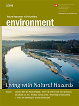 Magazine «environment» 2/2015 Living with Natural Hazards