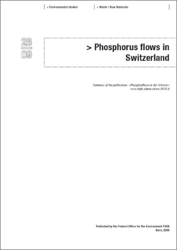 Phosphorus flows in Switzerland (Summary)