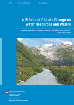 Cover Effects of climate change on water resources and watercourses