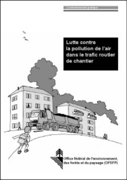 Cover Lutte contre la pollution de l'air dans le trafic routier de chantier. 2001. 70 p.