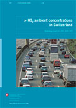 Cover NO2 ambient concentrations in Switzerland