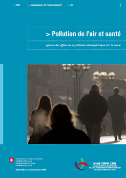 Cover Pollution de l'air et santé