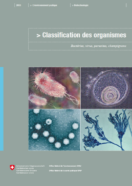 Cover Classification des organismes