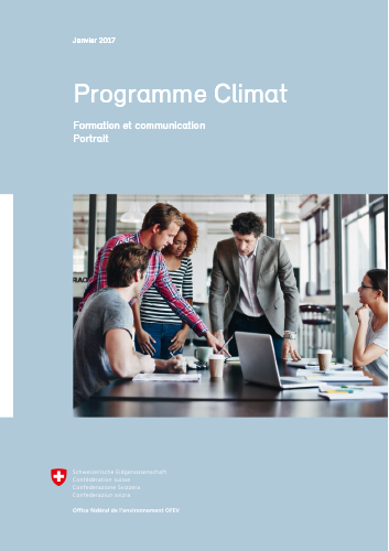 Cover Programme Clima