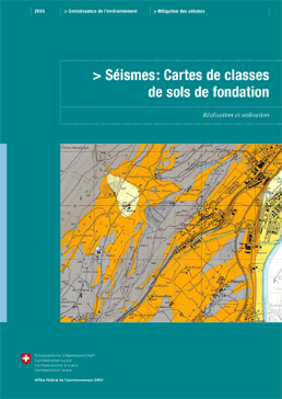 Cover Séismes: Cartes de classes de sols de fondation