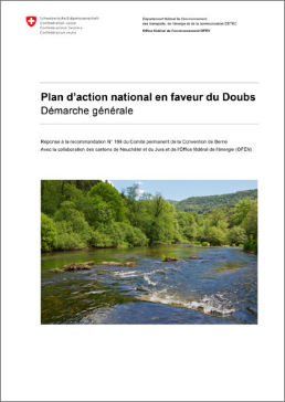 Cover Plan d'action national en faveur du Doubs