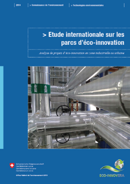 Cover Etude internationale sur les parcs d'éco-innovation
