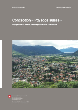 "Cover Conception ""Paysage suisse"""