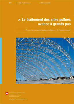 Cover Le traitement des sites pollués avance à grands pas