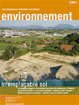 Cover Magazine environnement 4/2011 Sol