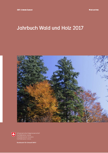 Cover Jahrbuch Wald und Holz