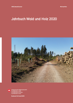 Cover Jahrbuch Wald und Holz 2019