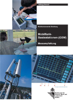 Cover Mobilfunk-Basisstationen (GSM). Messempfehlung. 2002. 49 S.